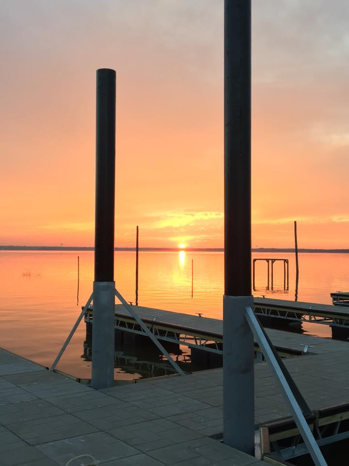 dock 1 sunset b