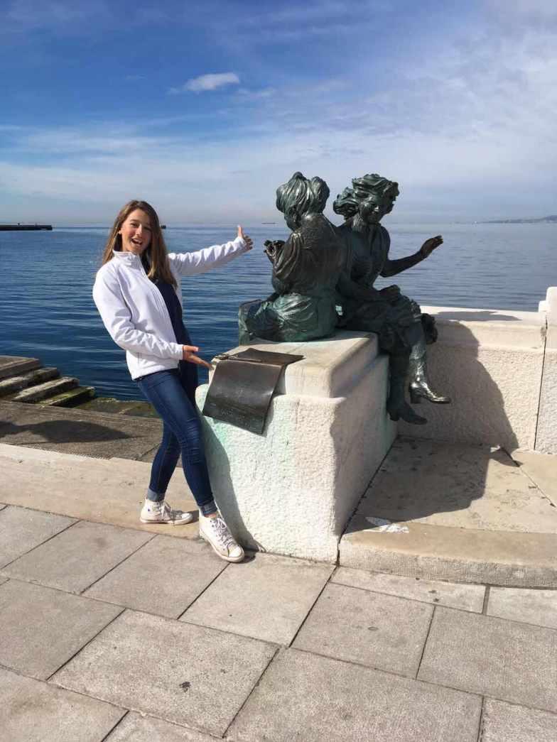 Lucija's team visited Italy!